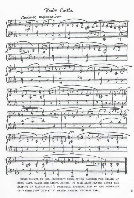 Roslin Castle March Sheet Music