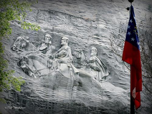 Confederate Memorial at Stone Mountain